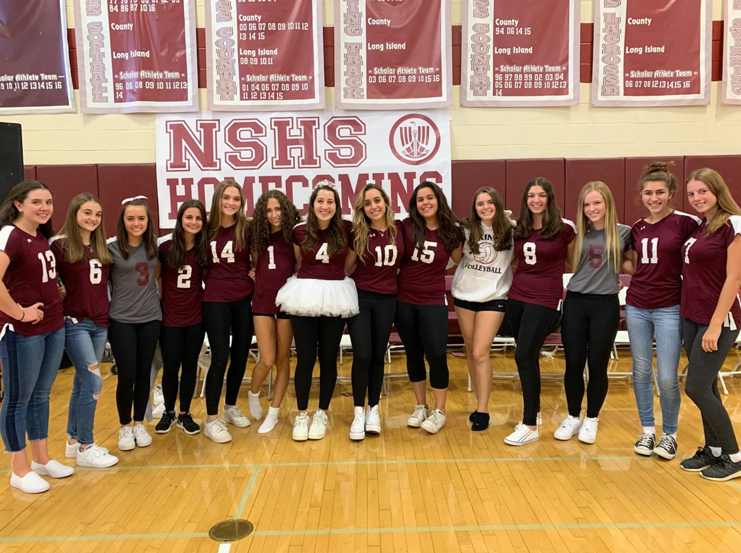 The North Shore High School volleyball team is looking forward to competing this March, especially the 12 seniors returning from last year's team.
