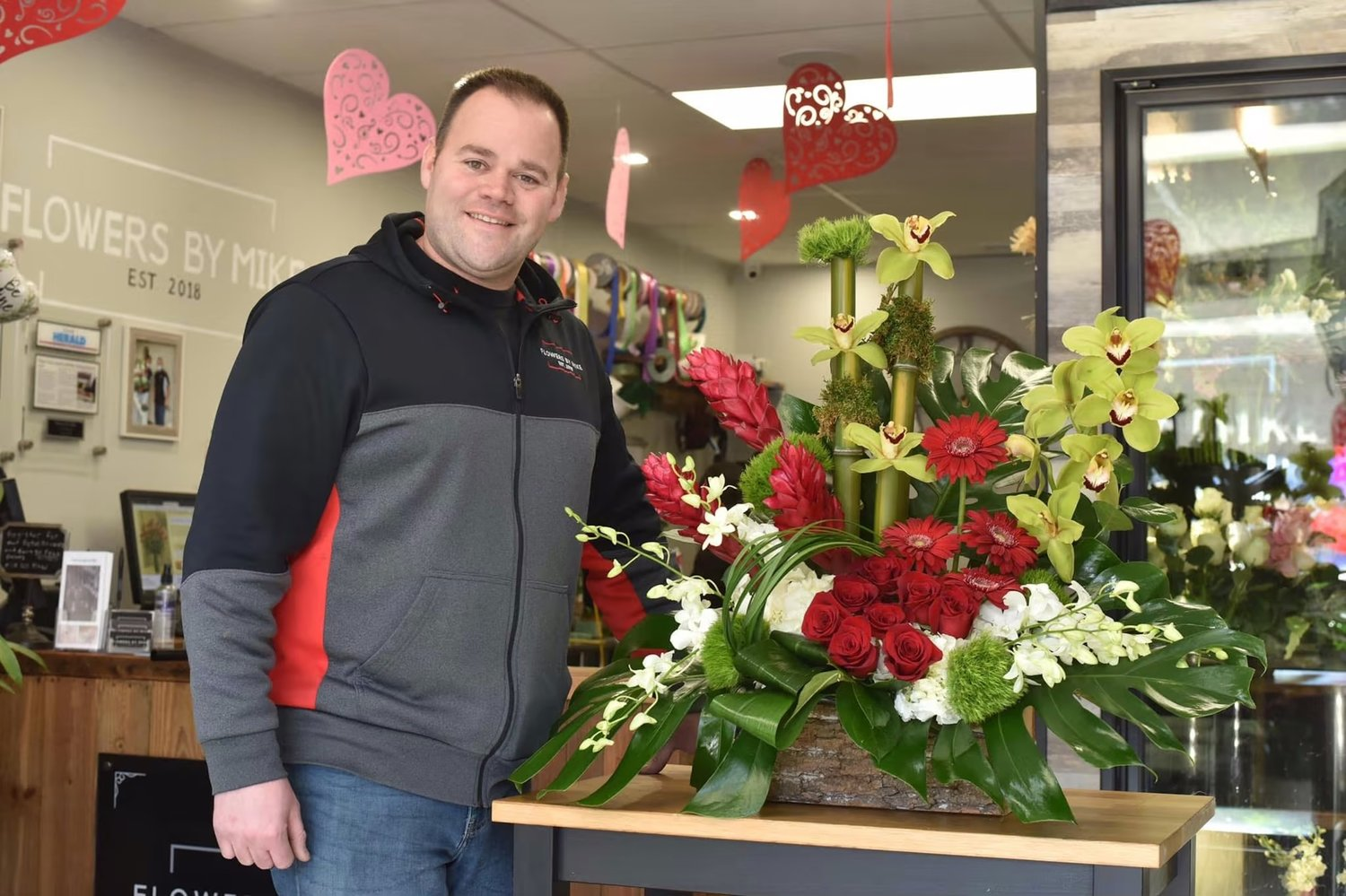 "Flowers by Mike owner Mike Graham said it was ""amazing"" to be voted best florist in Bethpage Federal Credit Union's Best of Long Island 2021 contest."