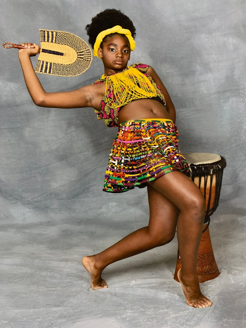 Kayla Marie Mingo, 11, has been excelling at dance and the piano at the prestigious Edge School of the Arts in Queens.
