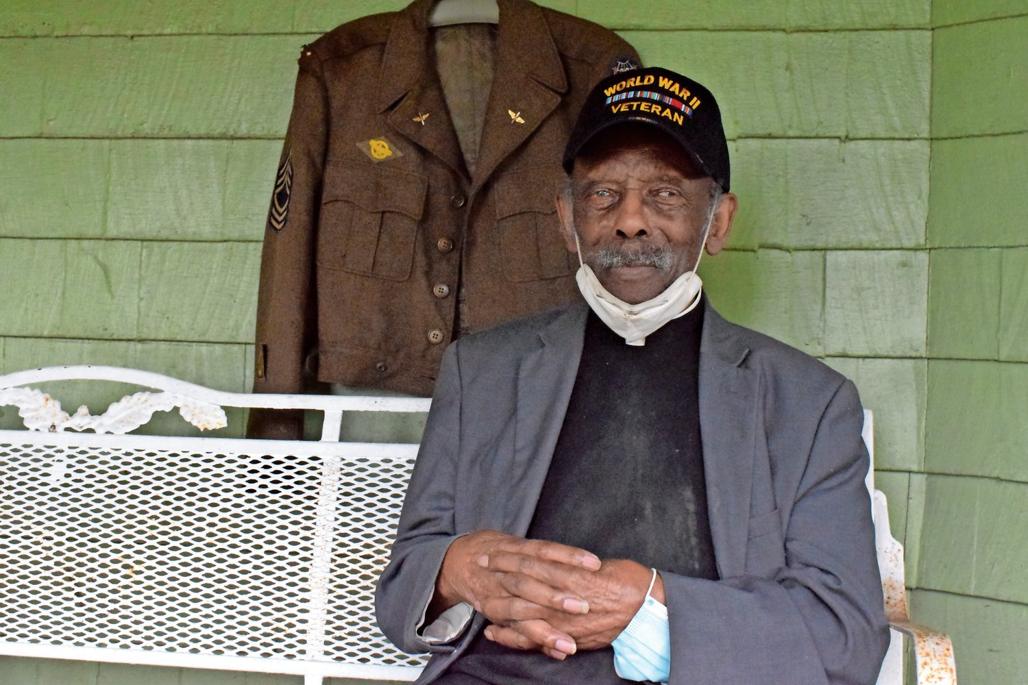 The Rev. Eugene Purvis, World War II veteran and local community leader, died on Feb. 5. at 97.