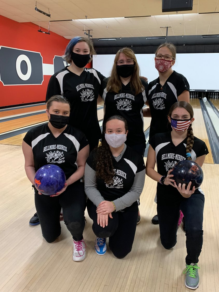The Bellmore-Merrick girls varsity bowling team won the Nassau County championships on Feb. 21. The team went undefeated in conference play and held the top average countywide heading into the championships.