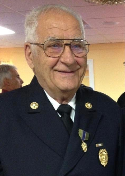 Raymond Esposito, an honorary chief of the Rockville Centre Fire Department, died on Feb. 11, 2021, at age 93.