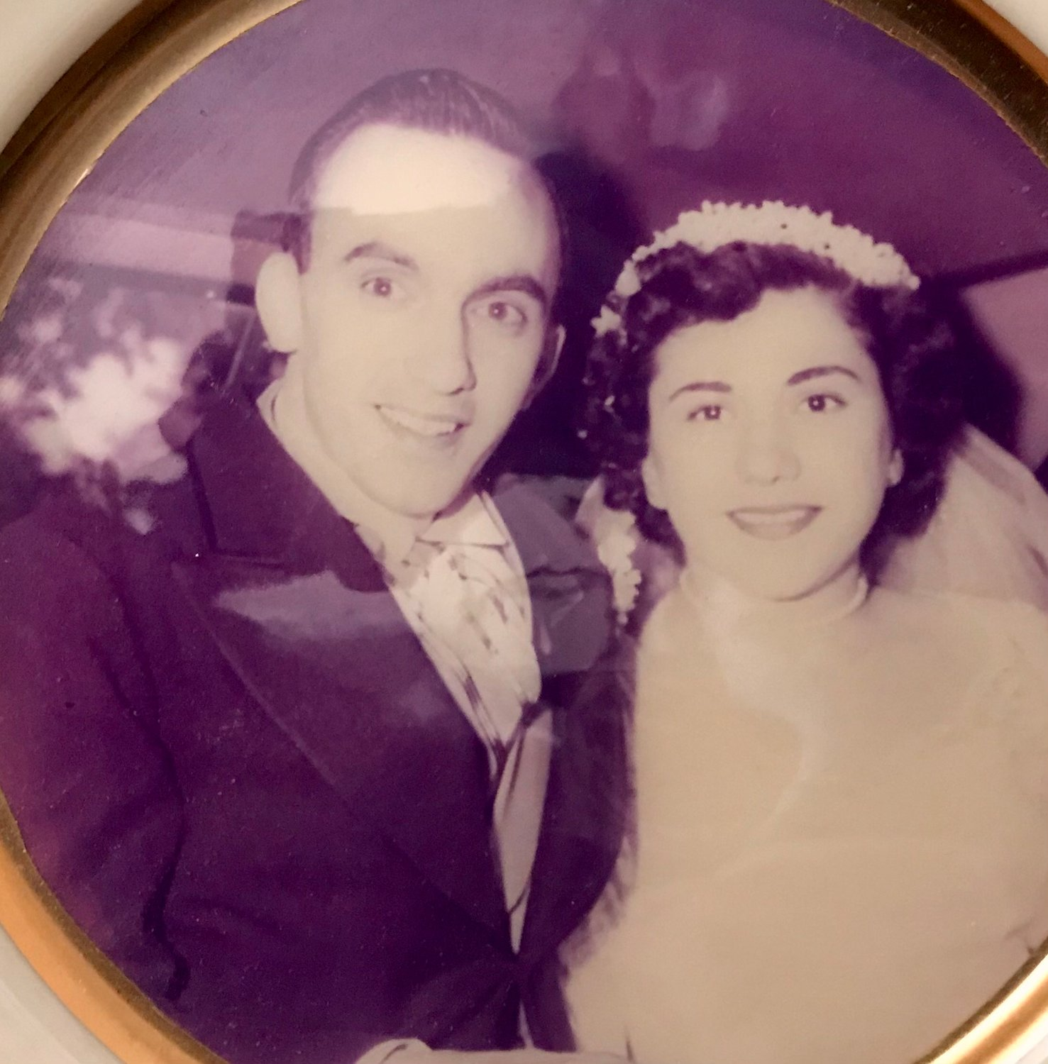 Lynbrook residents, Mayy and Charles Levato, on their Wedding Day. They are now both 92 and have been married for 67 years.