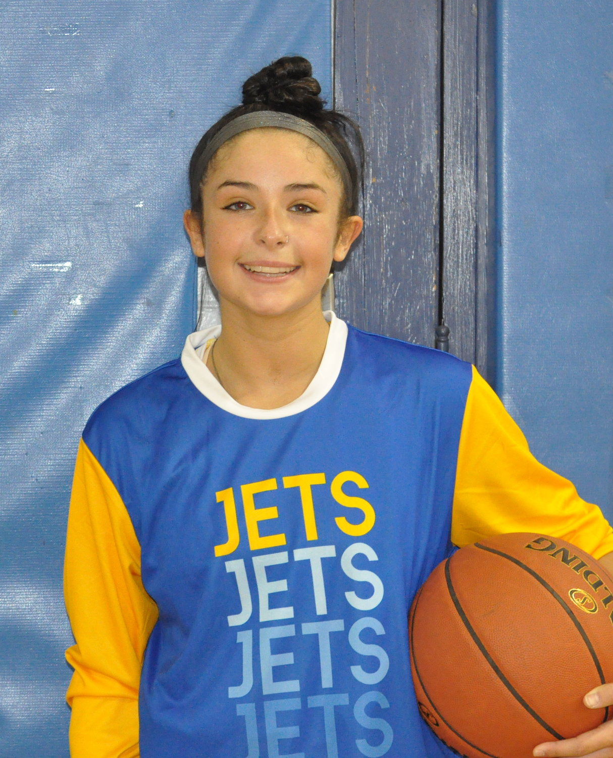 Senior Julie Tanenblatt is a three-year starter for the Jets.