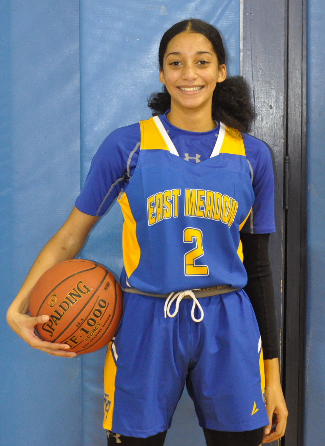 Senior Rhoda Williams scored in double figures in each of the first two games.