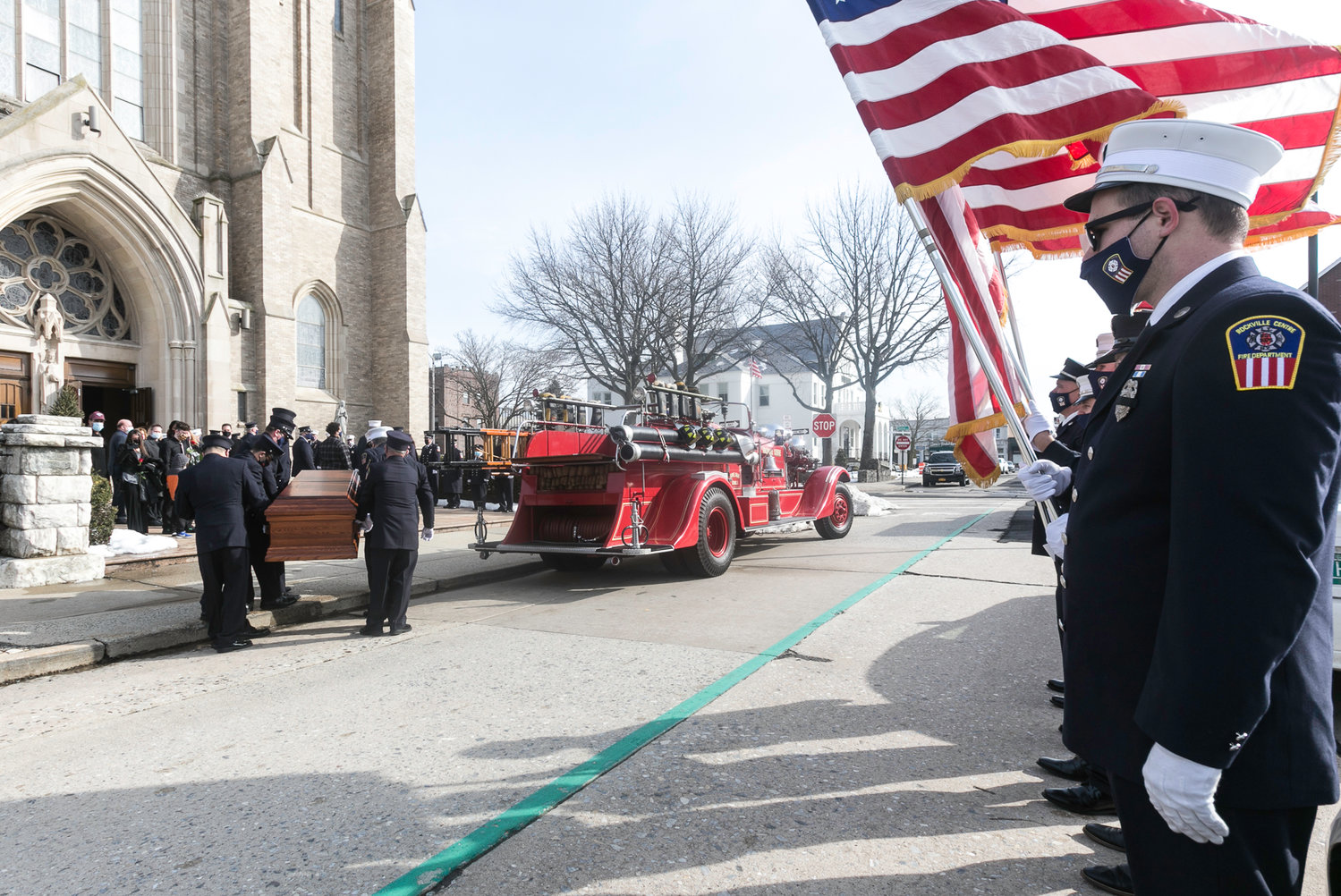 The funeral for Josie Howard was held at St. Agnes Cathedral on Feb. 23.