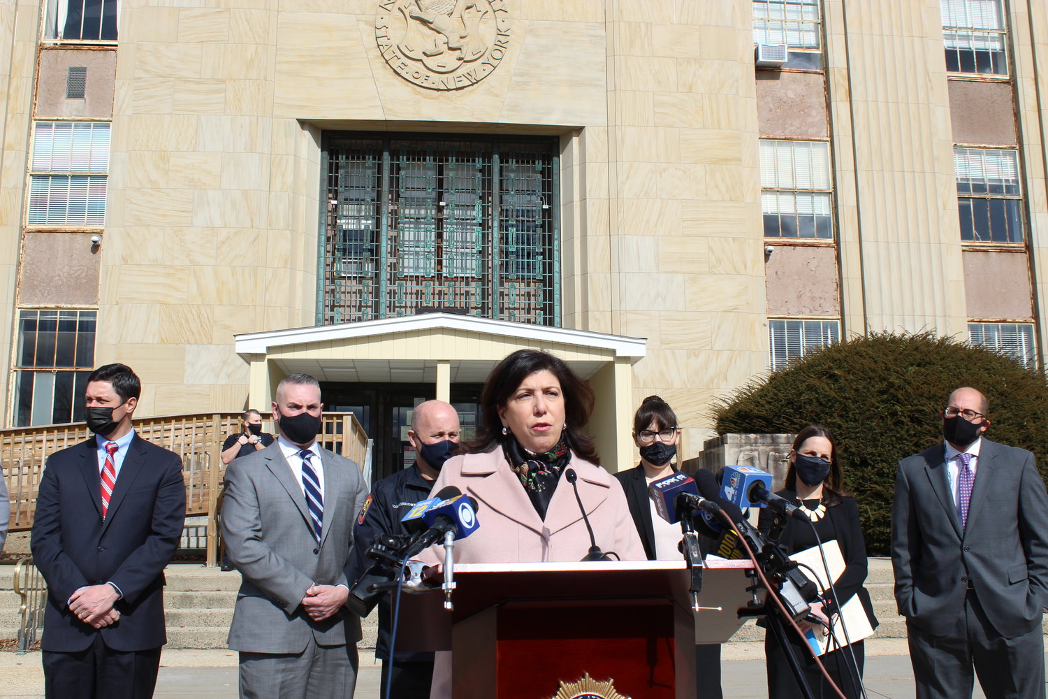 Nassau County District Attorney Madeline Singas said Blatti prescribed opioids up to nine times the daily allowable dosage.