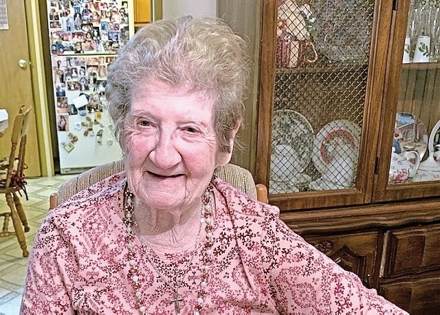 Emma Pughielli will turn 100 on May 23.