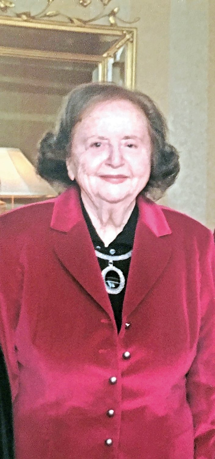 a former president of the Rockville Centre Chamber of Commerce and the Nassau Council of Chambers of Commerce, Sylvia Chertow died on Jan. 29, at age 95.