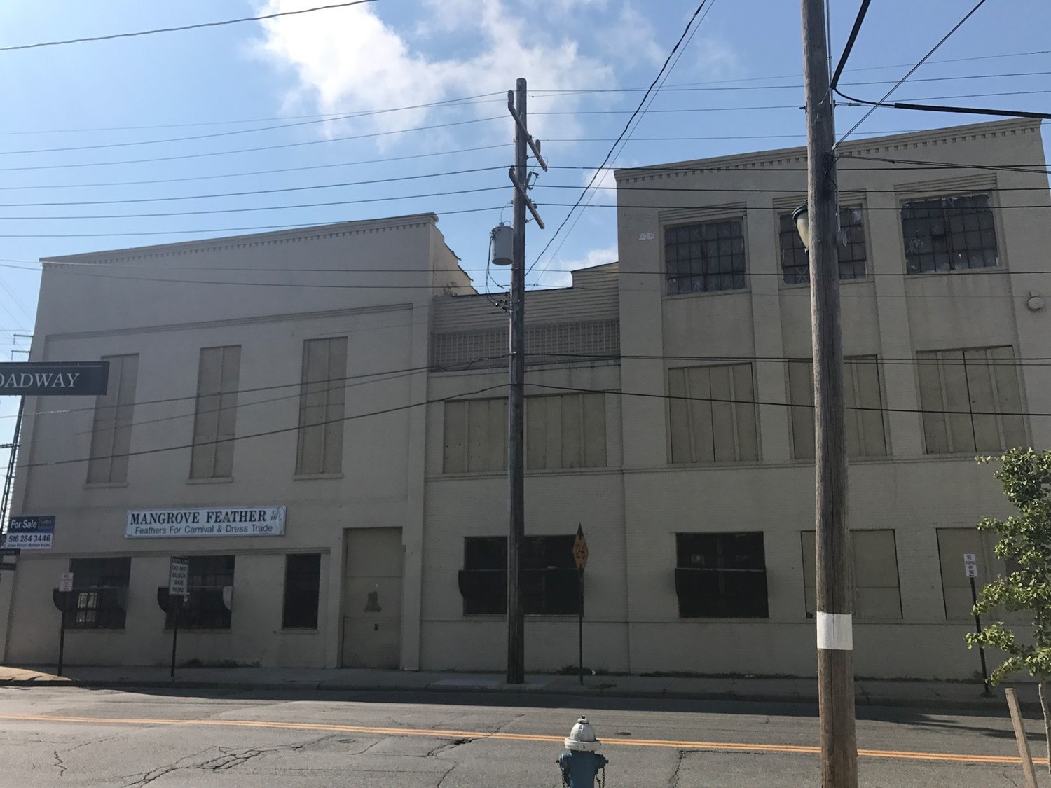 The former feather factory building has been vacant since 2008, and several village administrations have sought to redevelop it.