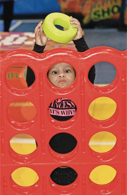 Photo Editor Christina Daly took home a third place for this fun photo of 3-year-old Harmony Cole at play at the Martin Luther King Center in Long Beach in January 2020.
