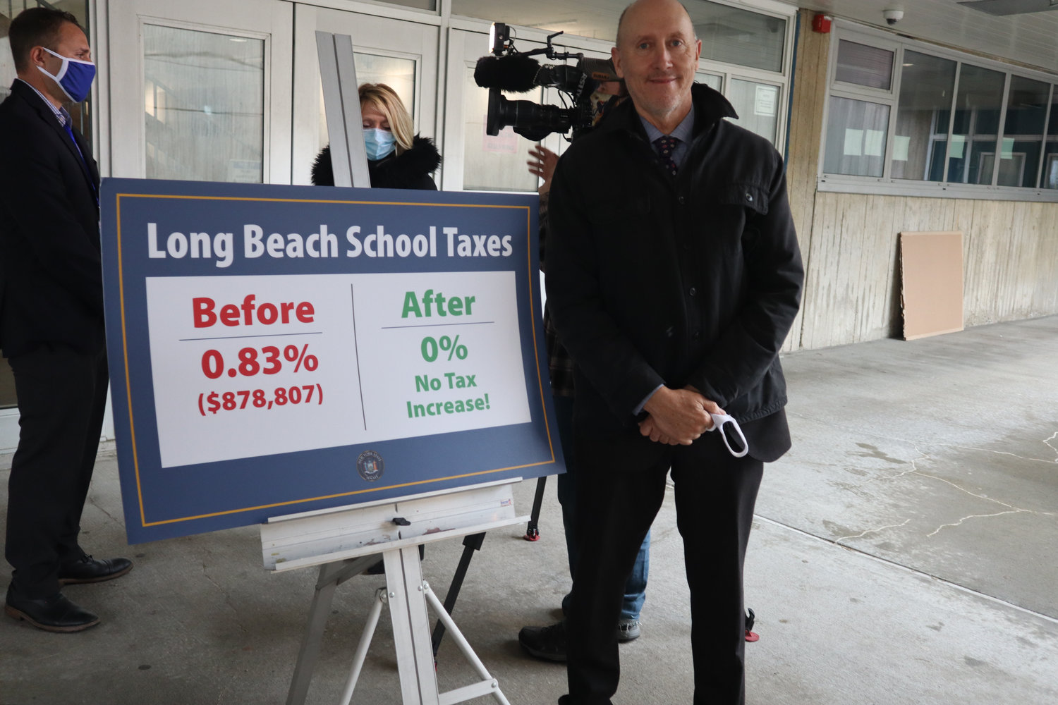 Michael DeVito, the district's assistant superintendent of finance and operations, has held budget presentations since January. Colleagues praised his fiscal responsible budget for the 2021-22 school year.