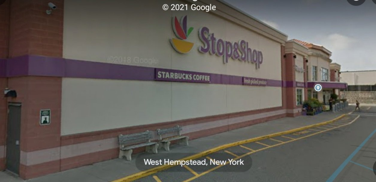 Three were shot at this Stop & Shop in West Hempstead. One died in the attack.