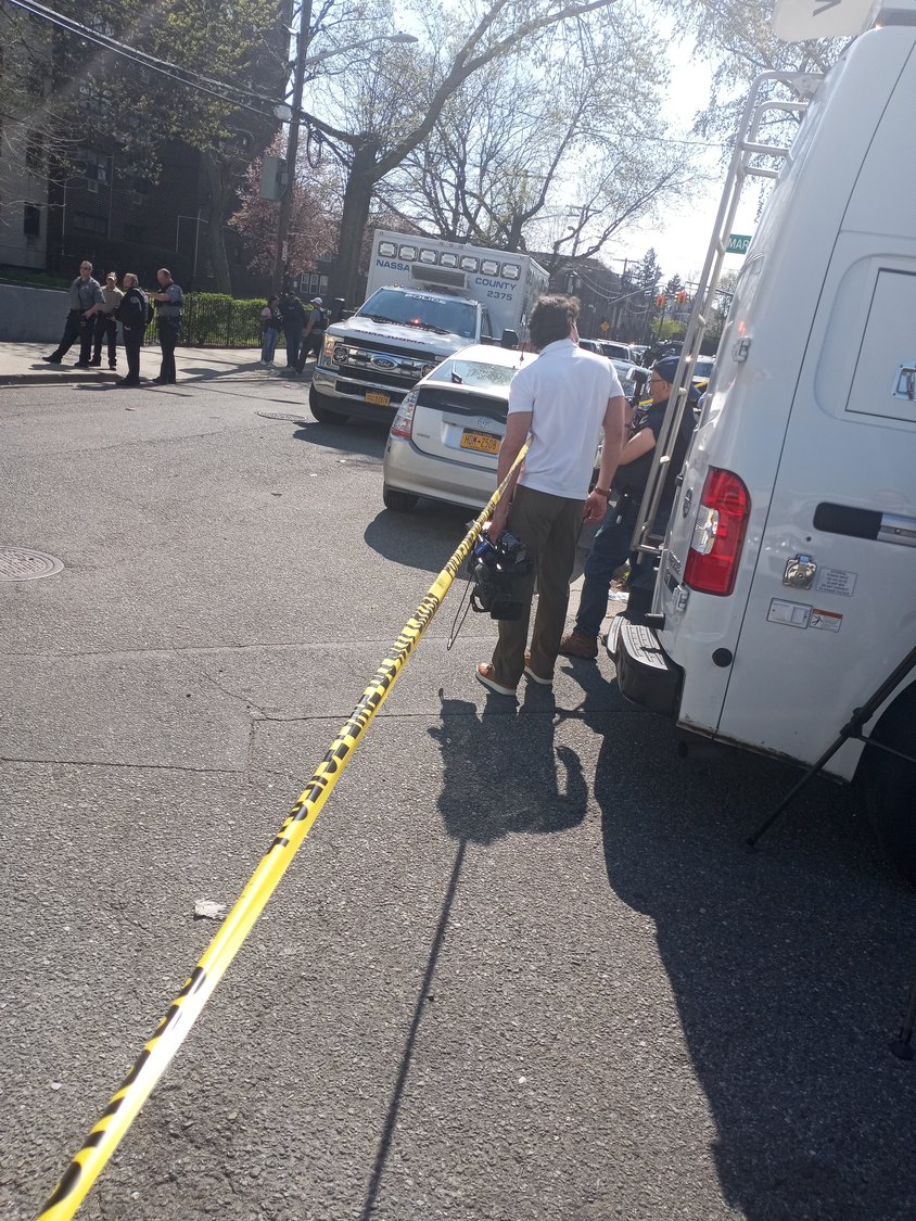 DeWitt Wilson was apprehended on Terrace Avenue in Hempstead.