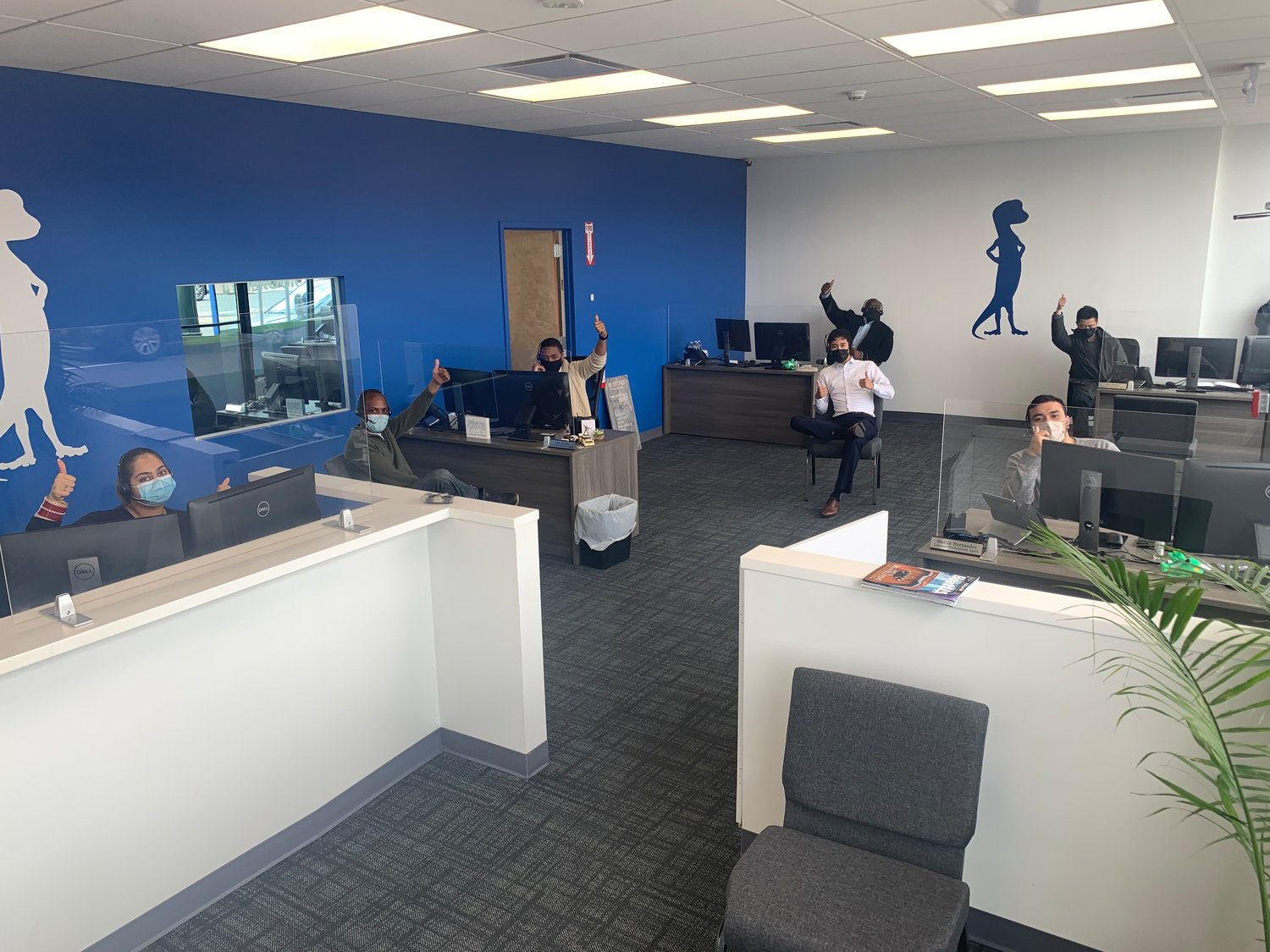 There are about 10 people on the Lynbrook office staff, all of whom adhere to Covid-19 protocols.