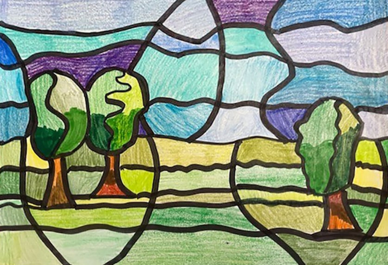 Davison Avenue Intermediate School fifth grader Erika Daly's artwork was featured in the Art Supervisors Association's 2021 Nassau All-County Virtual Art Exhibit.