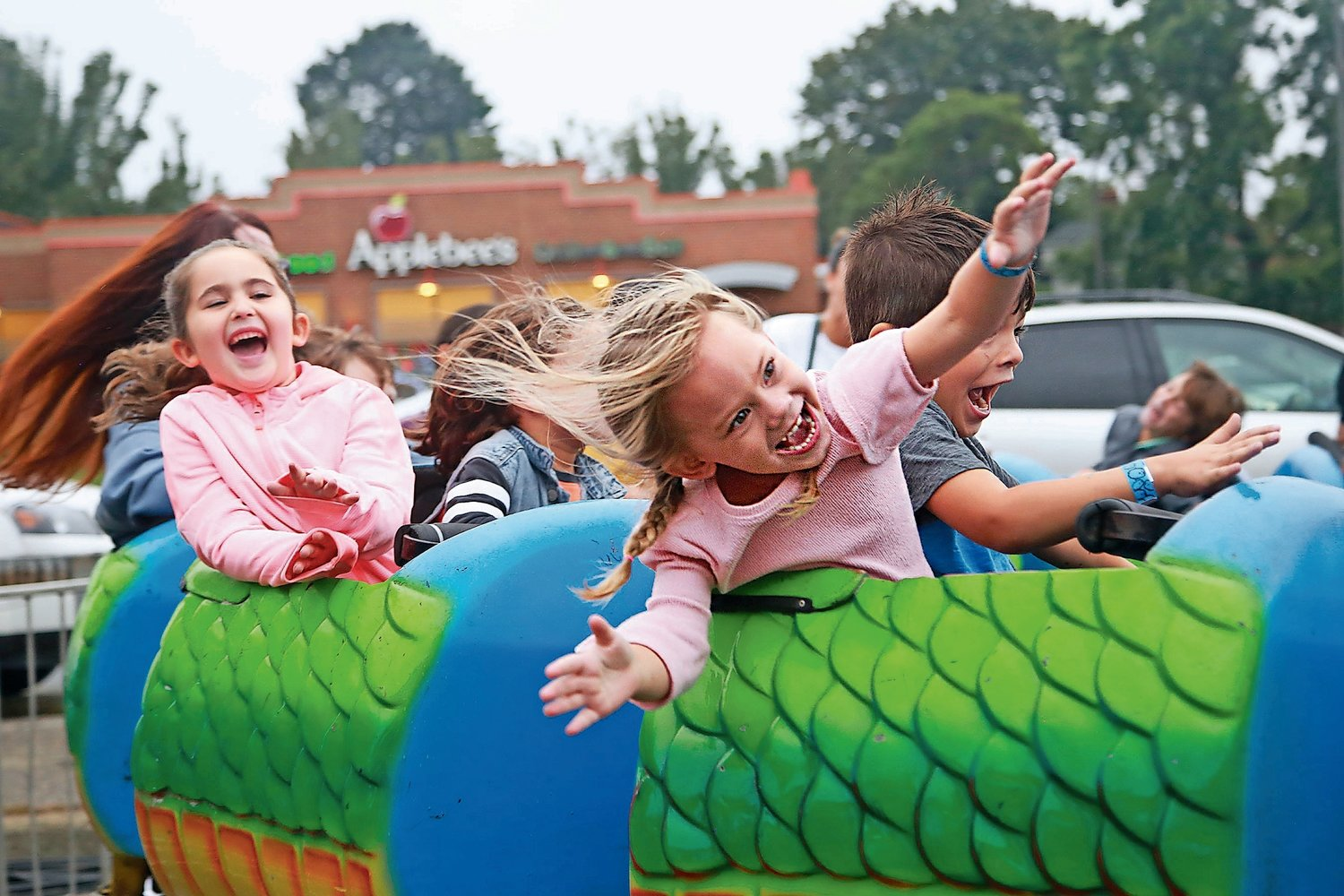 In 2019, hundreds of families enjoyed a sunny weekend at the Bellmore Street Festival, hosted by the Chamber of Commerce of the Bellmores, including 3-year old Jonny Russell in the Dragon Coaster. After its cancellation in 2020 because of the pandemic, the event will be back in September.