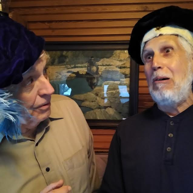 Don Larsson and Stephen Greenhalgh in 12th Night