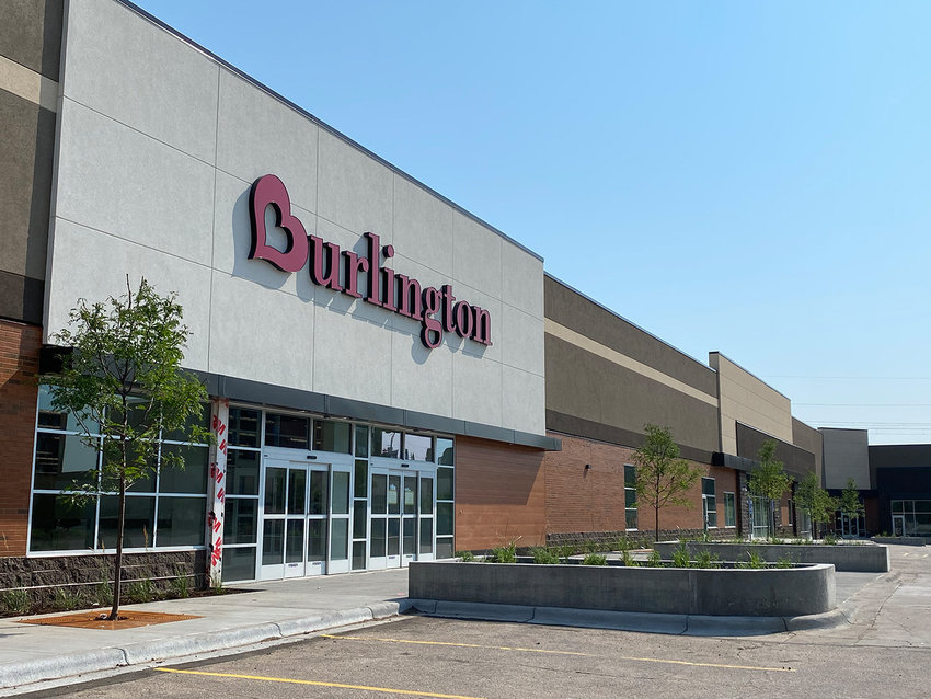 Burlington will open its 11th store in the state this fall at Hi-Lake Shopping Center. Prior to the fire that destroyed part of the shopping center, this central space had been home to Saver's. -(Photo by Tesha M. Christensen)