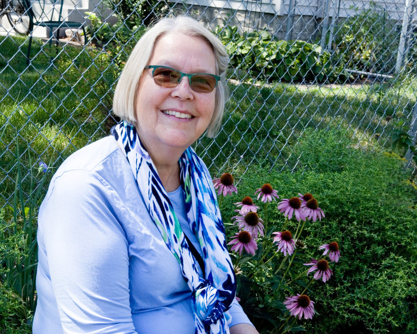 Linda Kjerland was a Garden for Wildlife mentee in her first year of developing a backyard habitat for wildlife. (Photo by Margie O'Loughlin)