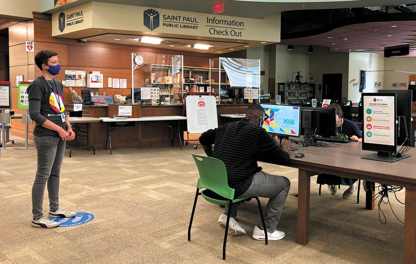 More people in Frogtown have lost their jobs due to COVID-19 than nearly anywhere else in the state. The Career Labs have been set up to help folks get back in the workforce. (Photo submitted)