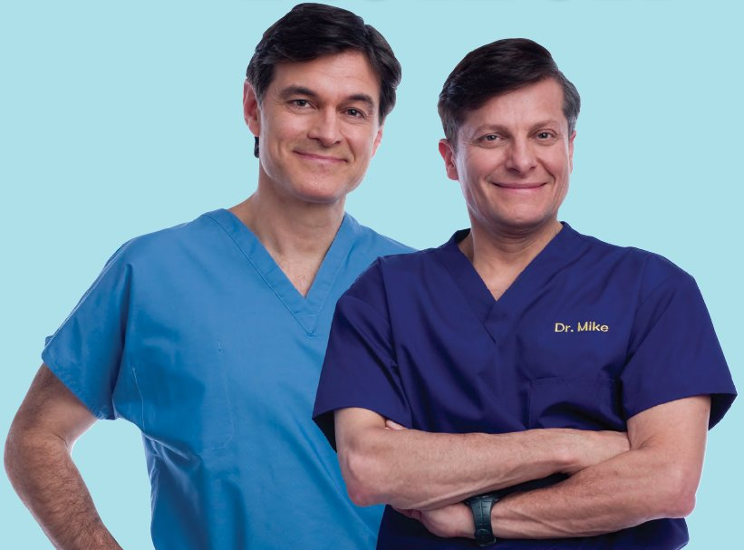 Dr. Mehmet Oz and Dr. Mike Roizen