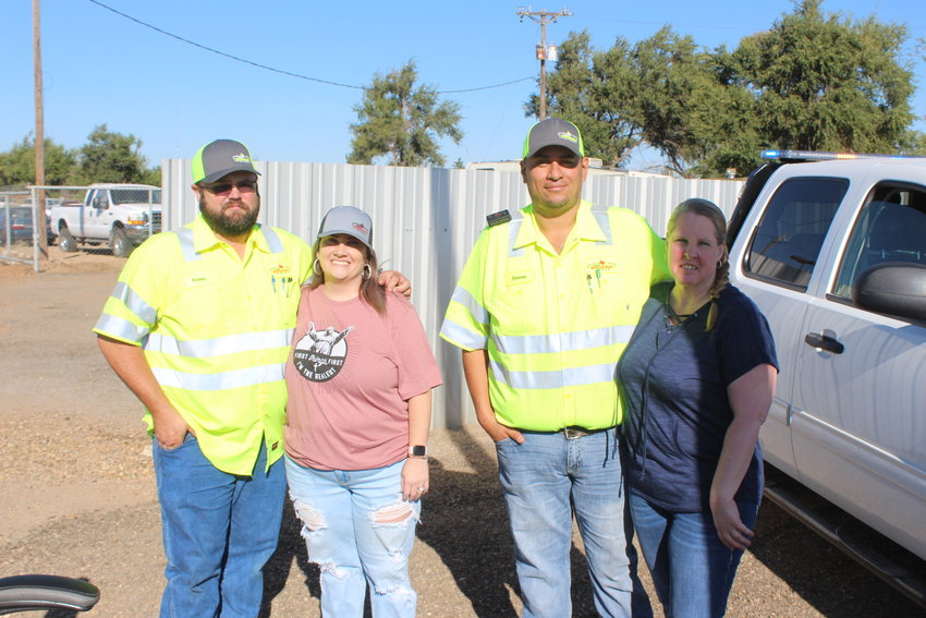 From left, Kasey and Laci Garrison, Danny Galvan and Stephannie Fausnaugh.