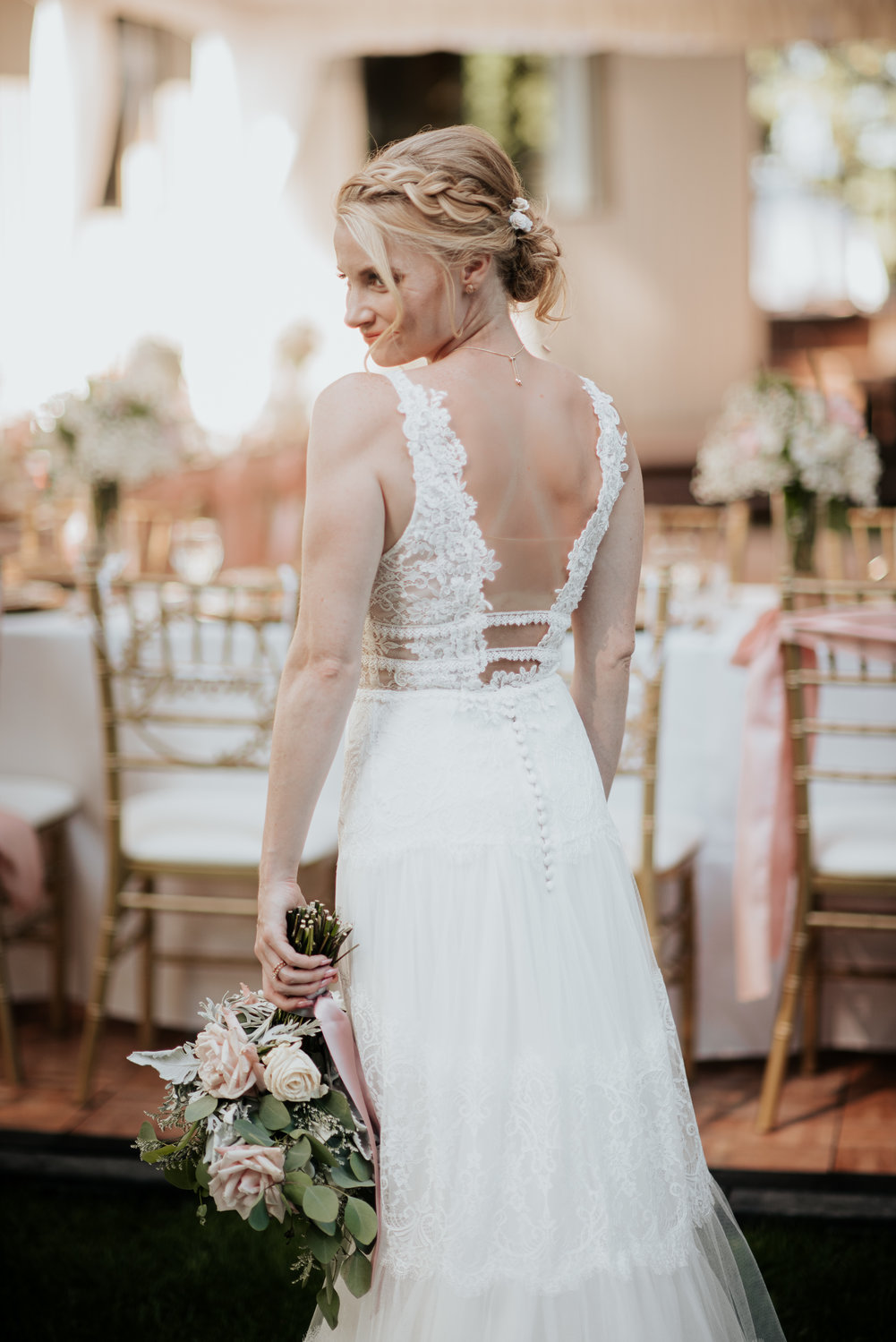 Real Wedding Jenny David