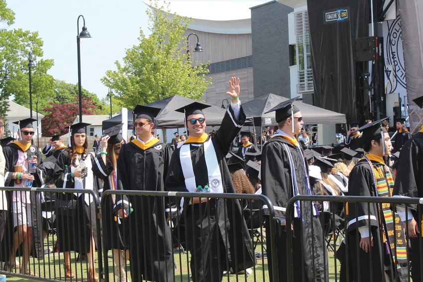 Providence College celebrates Commencement 2021 on campus for the first time since 1975.