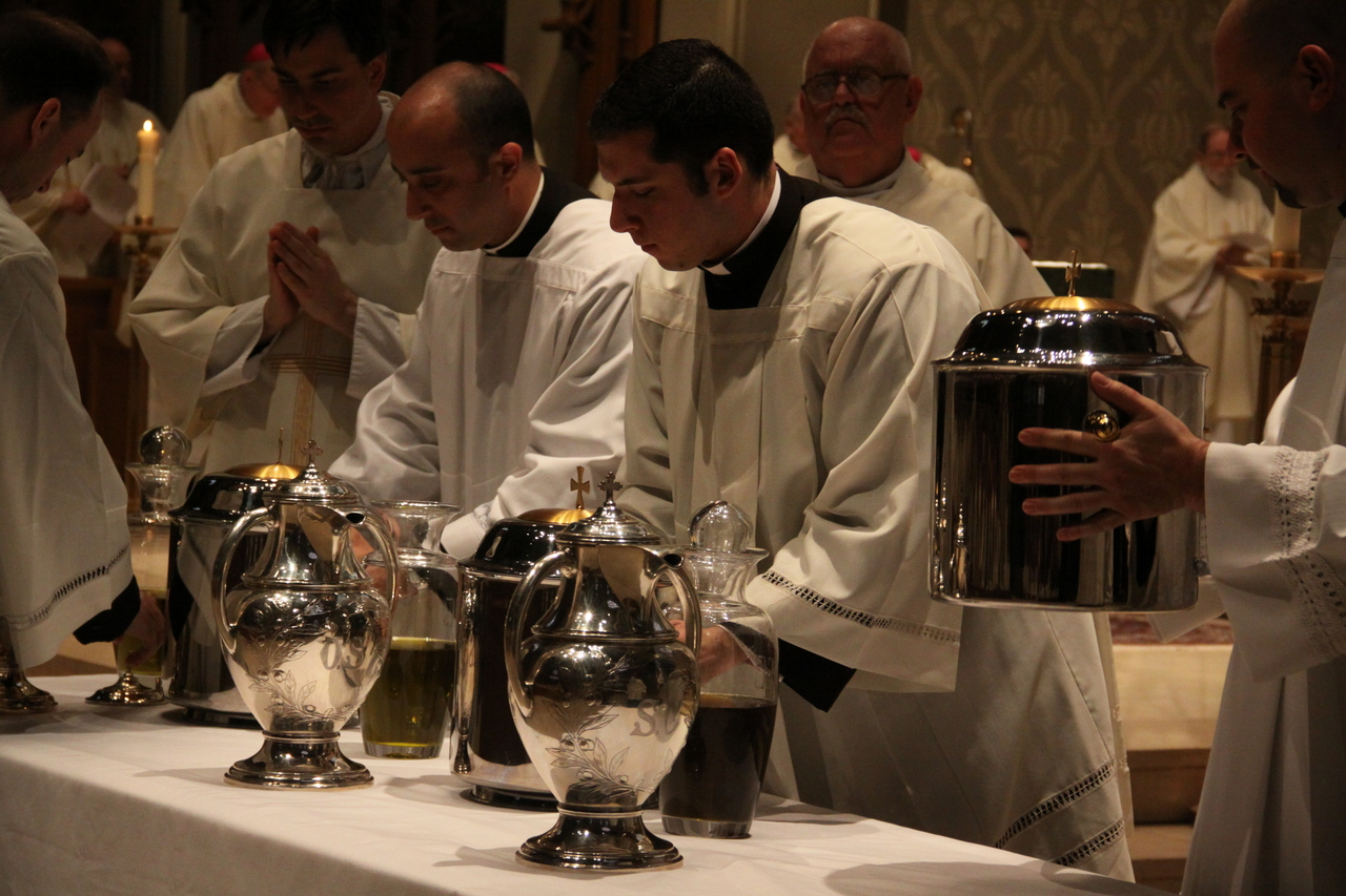 The blessing of the oils | Rhode Island Catholic