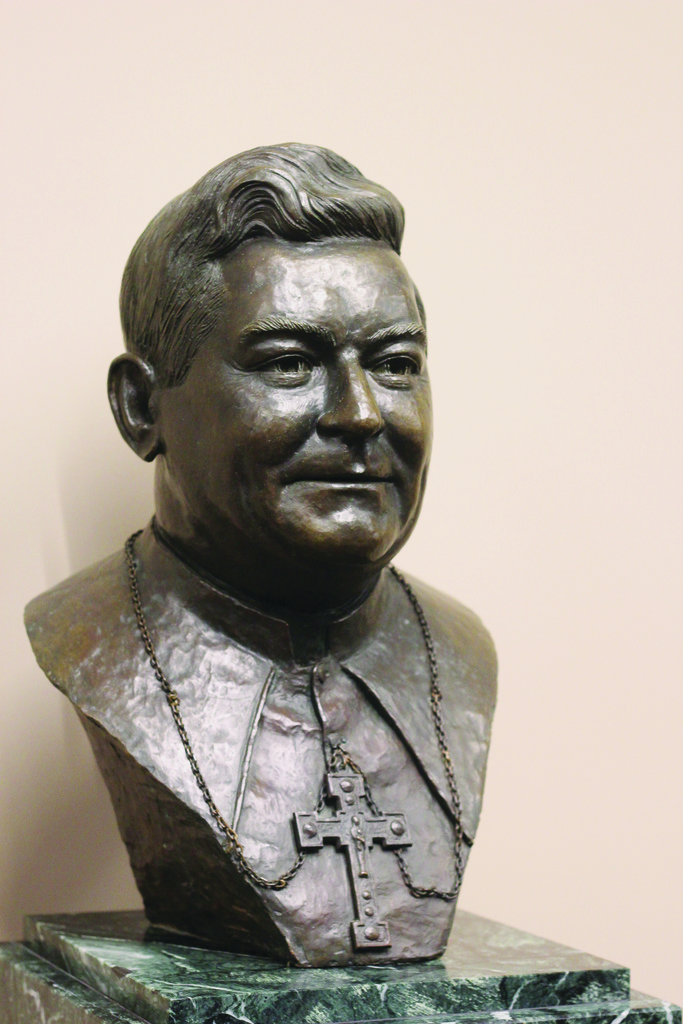 HONORING A BISHOP: 