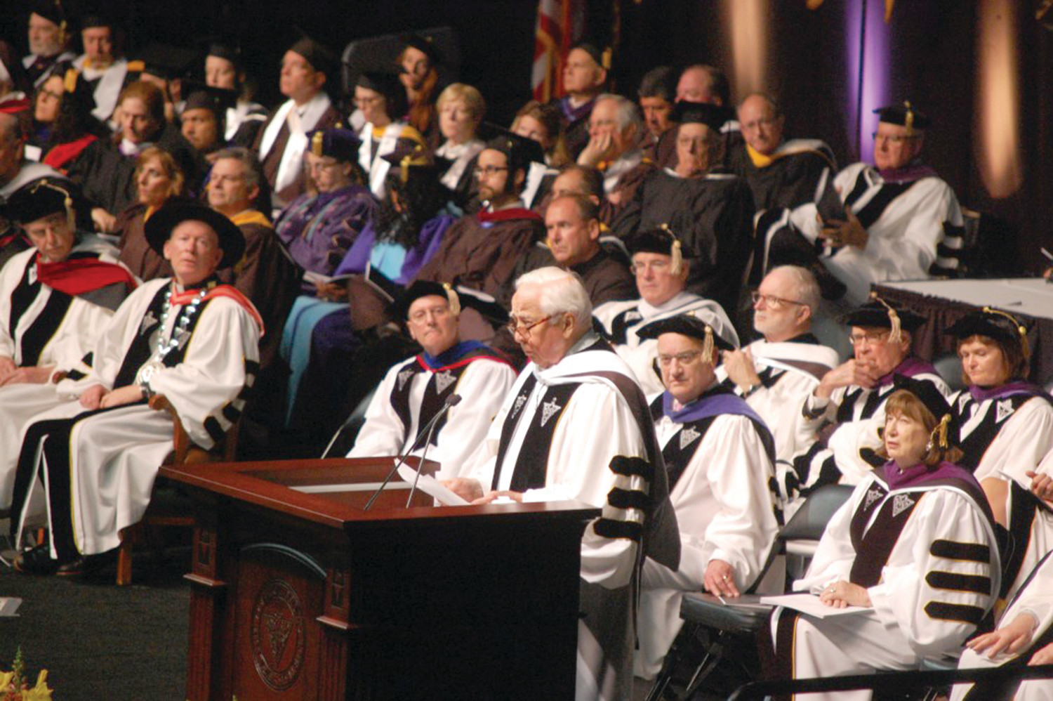 Pulitzer Prize-winning historian David McCullough served as the keynote speaker for the commencement of Providence College.