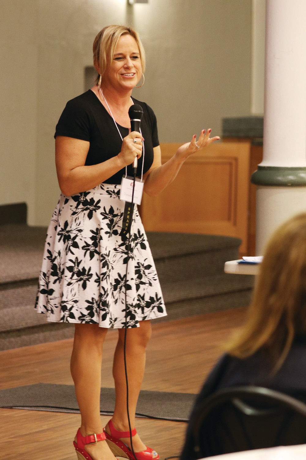 Danielle Bean and Kelly Nieto served as keynote speakers, and brought humor and inspired witnesses to the Catholic Women's Conference held Oct. 6.