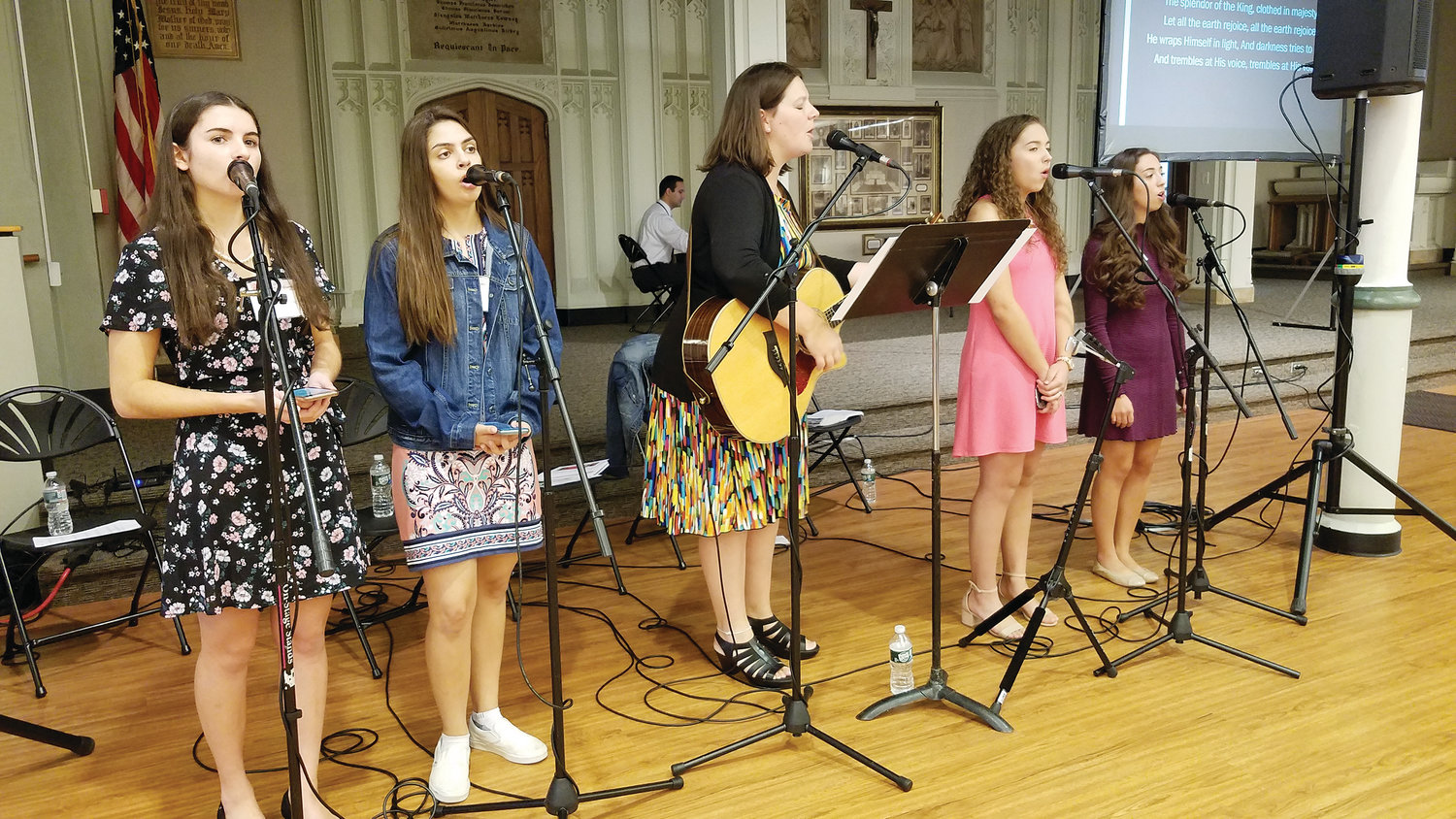 The annual Rhode Island Catholic Women's Conference, held on Saturday, Sept. 21, at the Cathedral of SS. Peter and Paul, Providence, include keynote speakers, Mass celebrated by Bishop Thomas J. Tobin, many vendors and praise and worship.