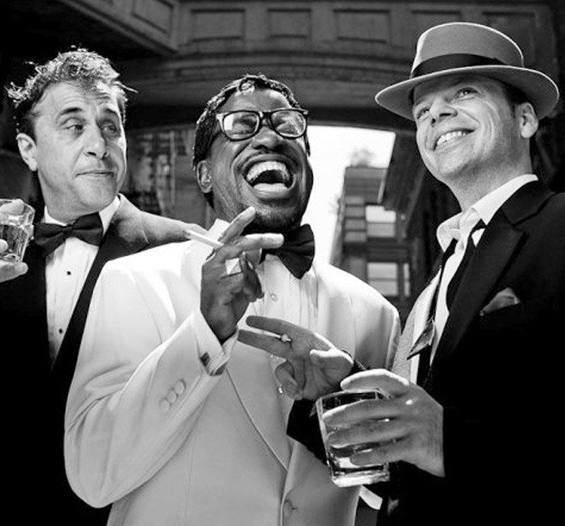 "Photo provided by the Hurleyville Arts Center  ""Swinging with The Rat Pack"" is an hour-long musical celebration that recreates the magic of the original Rat Pack."