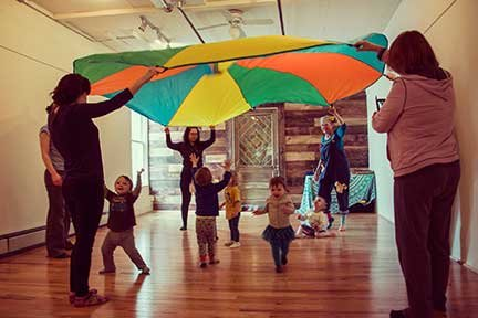 Contributed photo    Toddlers enjoy a Dance Along class.