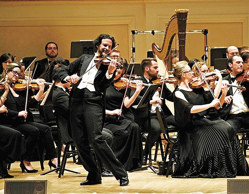 The Manhattan Symphonie Strings is one of this year's featured artists.