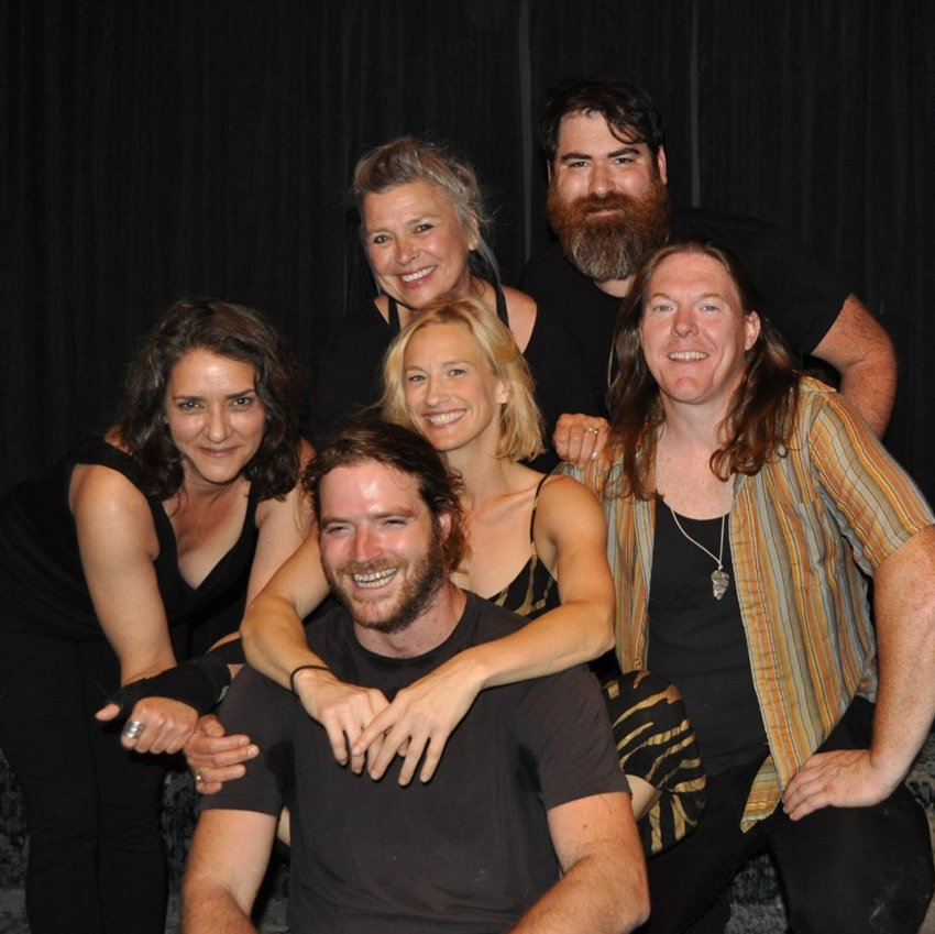 """The cast of """"Up and Coming"""": A Modern Comedy with Rustic Humor"""" hilariously spoofs life in the country with comedy and music in sketches like """"Tale of the Big Eddy,"""" """"Tap my Maple Tree,"""" and """"Stairway to Heaven Assisted Living Commune."""""""