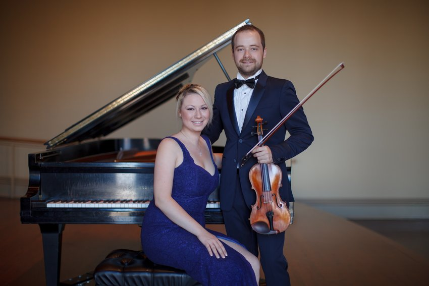 The Borisevich Duo will perform on Sunday, October 6 at the Bethel Woods Event Gallery.