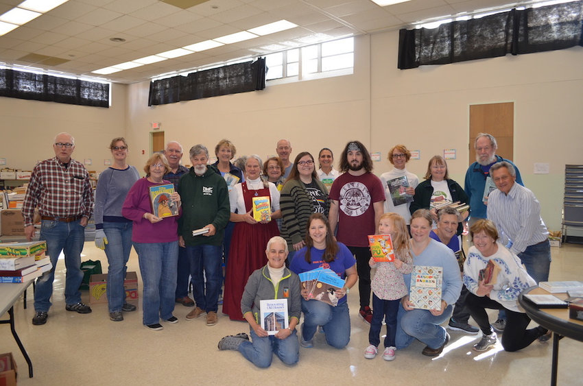 It takes a large group of hard-working volunteers and generous support from the community to pull off this annual book swap. Now in its eighth year, the event was recognized with a 2019 Environmental Partnership Award from the Northeast PA Environmental Partners. The free book swap is a collaborative effort among area businesses, nonprofits, local governments and individuals to provide a sustainably responsible outlet for repurposing mass quantities of books.