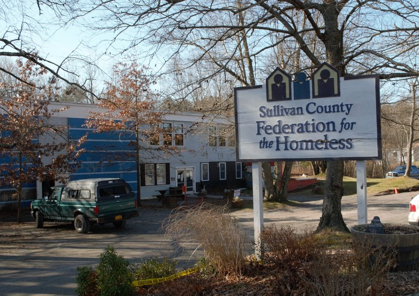 The Sullivan County Federation for the Homeless in Monticello becomes especially active during the holidays.
