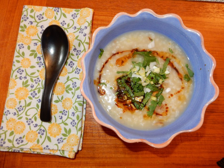 Jude Waterson swears by this congee rice porridge whenever you or a loved one is feeling under the weather.