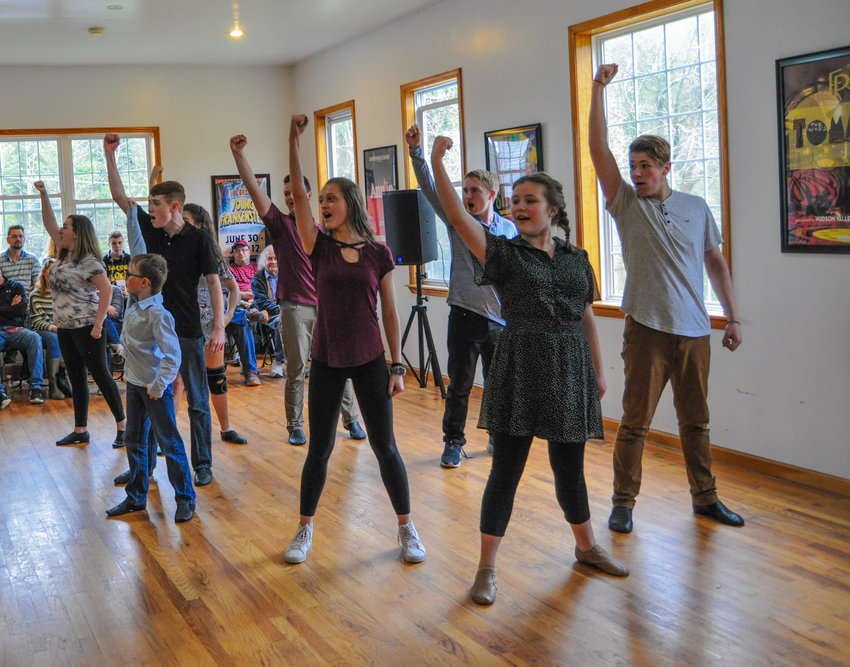 Students receive one-on-one instruction in acting, choreography and vocal technique during the intensive workshops held at the Performing Arts Academy held at the Forestburgh Playhouse.