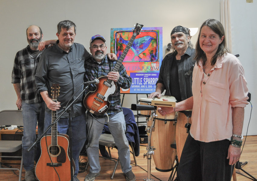 "The Sullivan County Historical Society's ""Music and History"" concert series featured the Little Sparrow Band last weekend at the museum in Hurleyville, NY."