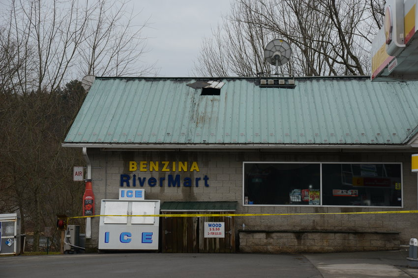 The Callicoon Caffe and Benzina River Mart were closed on the morning of February 4, after the buildings were heavily damaged by fire the night before.