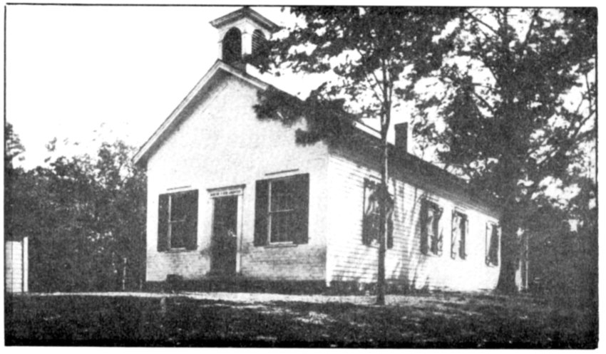 Hankins School, 1912. Outhouses not shown.