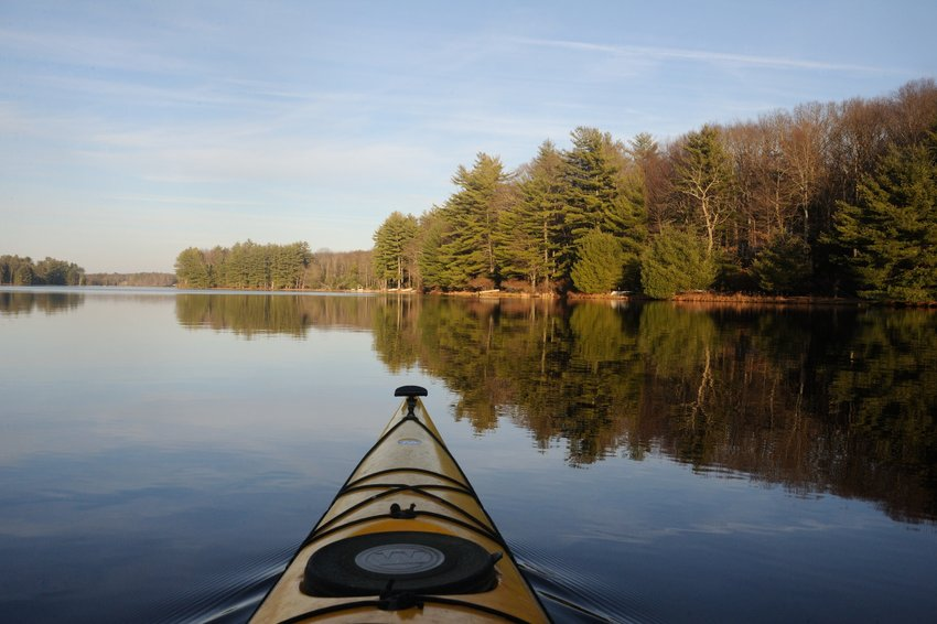 Kayaking is a great way to practice social distancing while enjoying what nature has to offer. It is spring; birds and frogs will be calling. Look for some spring migrants and listen for the spring peepers near the wetlands.