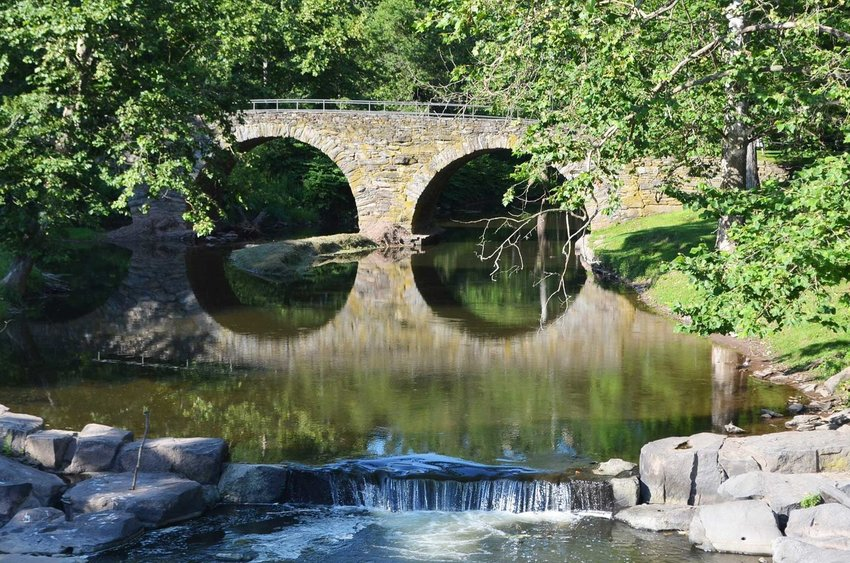 Stone Arch Bridge Historical Park in Kenoza Lake, NY is one of several Sullivan County facilities that are close to the public