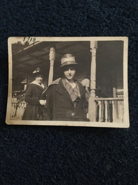 My grandmother, Catherine Peake Dirig, in 1918.