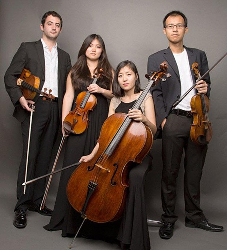 "About the Zorá String Quartet, the New York Times wrote, ""From the first phrase, played with rich sound and wistful beauty, I knew this would be an eloquent... performance."""